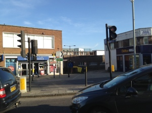 London Road - Dartmouth Road junction